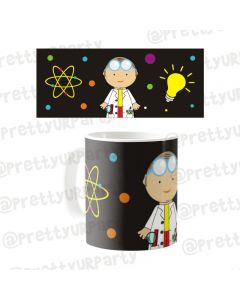 Personalised Mad Scientist Mug