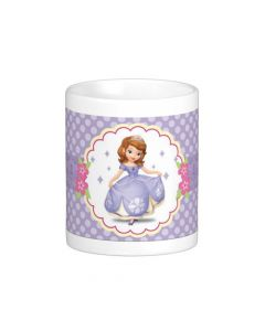 Personalised Sofia the first Enchanted Garden Party Mug 01