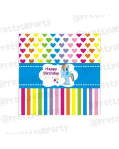 My Little Pony Chocolate Wrappers