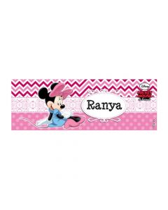Minnie Mouse Badge / Name Tag