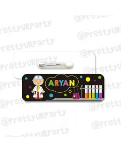 Mad Scientist Badge / Name Tag
