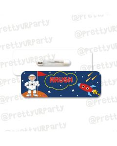 Space Badge / Name Tag
