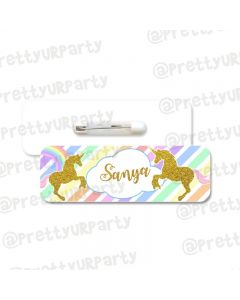 Unicorn Badge / Name Tag