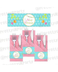 Merry and Bright Napkin Rings