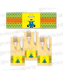 Despicable Me Minions napkin rings