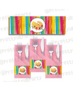 Art & Craft Party Napkin Rings