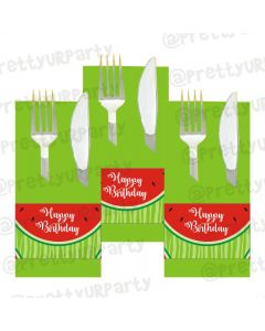 Watermelon Theme Napkin Rings