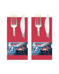 Captain America Napkin Rings