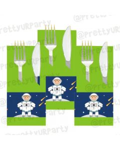 Space Theme Napkin Rings