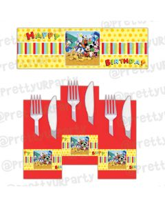 Mickey Mouse Clubhouse Inspired Napkin Rings