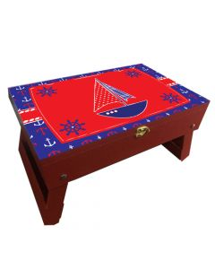 Nautical Folding Storage Table