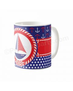 Personalised Nautical Mug