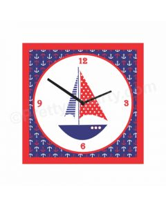Personalised Nautical Clock - Square