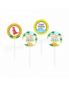 Dinosaur Theme food toppers