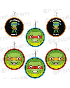 Ninja Turtles Danglers