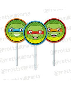 Ninja Turtles  food toppers