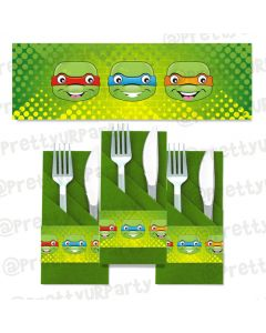 Ninja turtles napkin rings