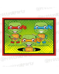 Ninja Turtles table mats