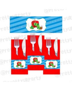 The hungry Caterpillar Napkin Rings