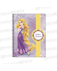 Tangled / Rapunzel Note Books with coloured Pages