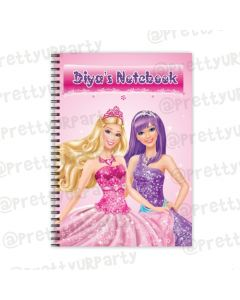 Barbie Rockstar Note Books with coloured Pages