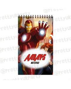 Avengers Inspired Note Pads