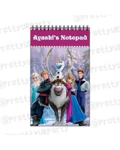 Frozen Inspired Note Pads