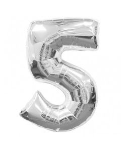 foil 5 number balloon