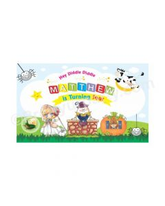 Nursery Rhymes Theme Backdrop