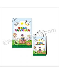 Nursery Rhymes Theme Khoi Bag / Pinata