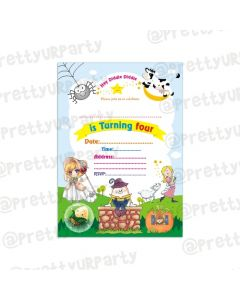 Nursery Rhymes Invitations