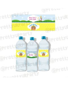 Nursery Rhymes Bottle Labels