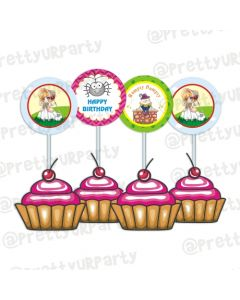 Nursery Rhymes Cupcake Toppers