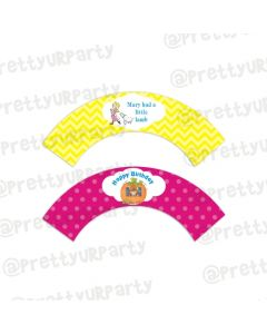 Nursery Rhymes Cupcake Wrappers