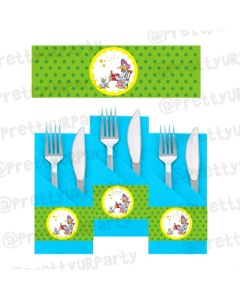 Nursery Rhymes Napkin Rings