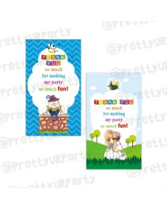 Nursery Rhymes Thankyou Cards