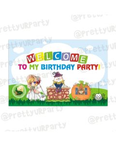 Nursery Rhymes Entrance Banner
