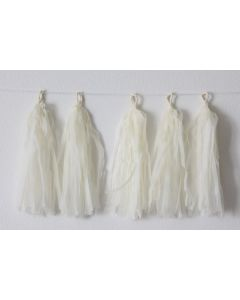 Off White Tassel Garland