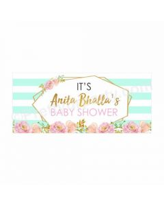 Personalized Oh Baby Theme Banner 30in