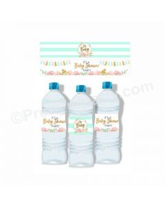 Oh Baby Theme Water Bottle Labels