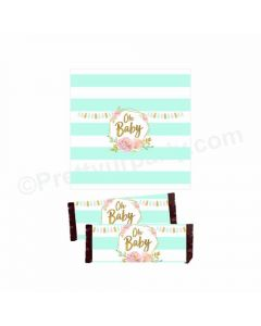 Oh Baby Theme Chocolate Wrappers