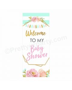 Oh Baby Theme Door Banner