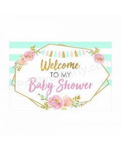 Oh Baby Theme Entrance Banner / Door Sign