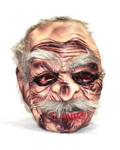 Old man halloween mask