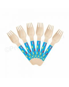 Colorful Cars Theme Forks