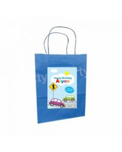 Colorful Cars Gift Bags - Pack of 10