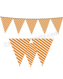 Orange Stripes Bunting