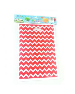 Red Chevron Loot Bags