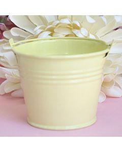 light yellow small bucket favors