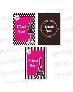 paris thankyou cards
